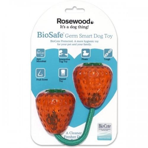 Mordedor fresa biosafe color Rosa