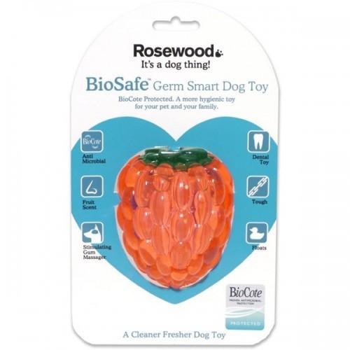 Mordedor frambuesa biosafe color Rosa