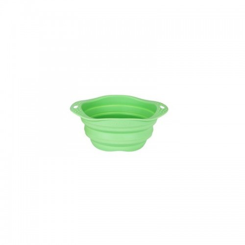 Comedero plegable Beco Travel Bowl para perros color Verde