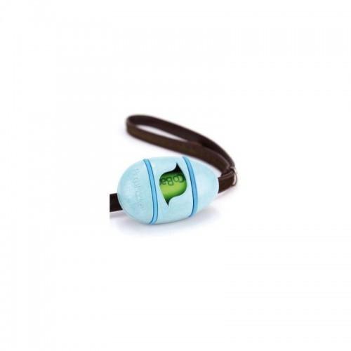 Dispensador de bolsas de basura para excrementos BecoPocket color Azul
