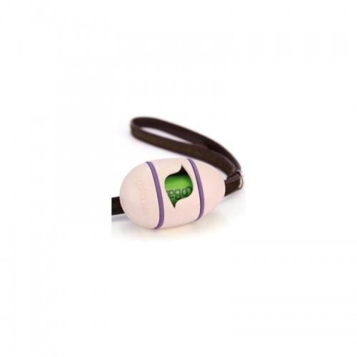 Dispensador de bolsas de basura para excrementos BecoPocket color Rosa