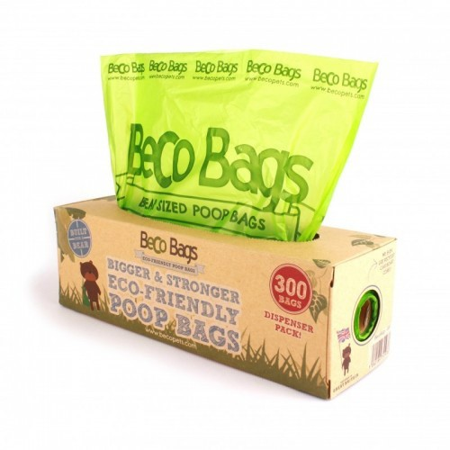 Dispensador de 300 bolsas BecoBags olor Neutro