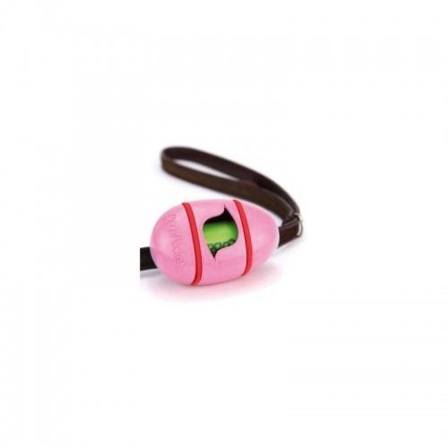 Dispensador de bolsas para excrementos BecoPocket color Fucsia