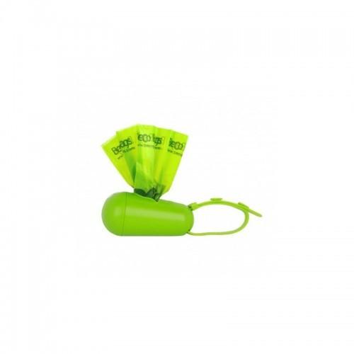 Dispensador de 15 bolsas Beco Pod olor Neutro