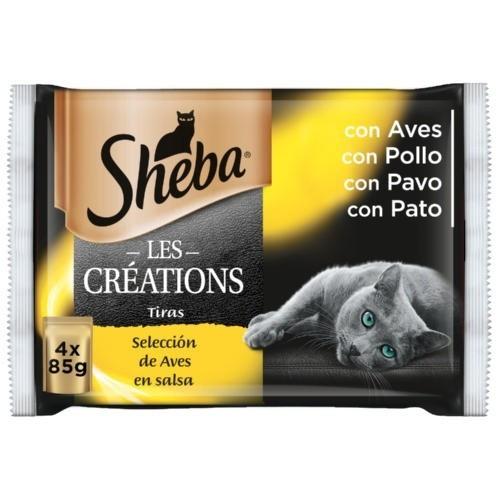 Sheba Les Créations Selección de Aves en salsa