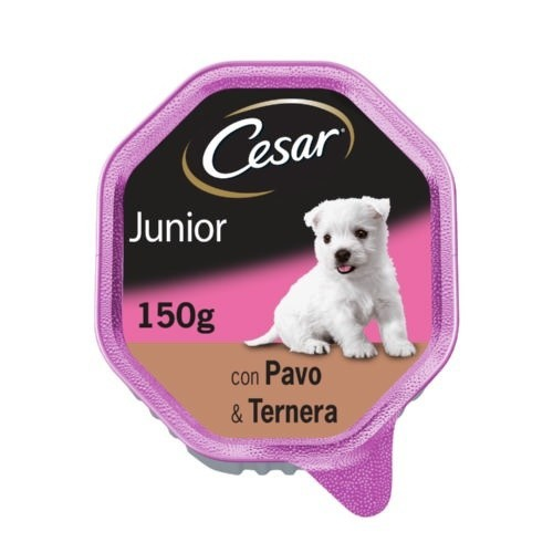 Tarrina Cesar Junior con Pavo & Ternera