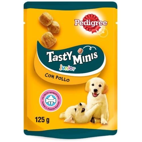 Bocaditos Pedigree Tasty Minis Junior con Pollo