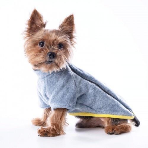 Abrigo para perros Groc Groc Chiu Muflón color gris