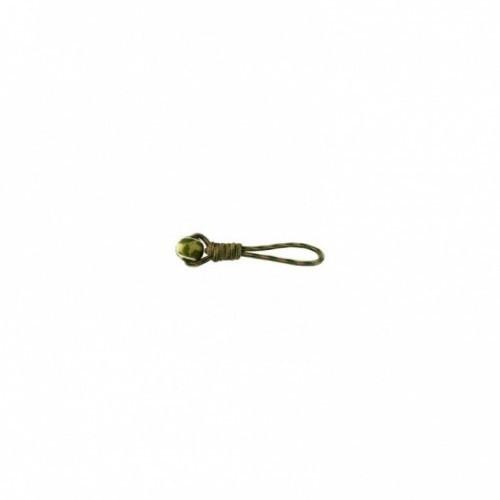 Juguete de cuerda con nudo y pelota color Verde