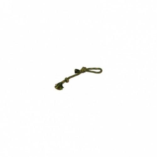 Juguete de cuerda con nudo y asa color Verde