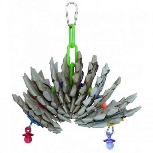 Juguete Pinetwist para pájaros color Varios