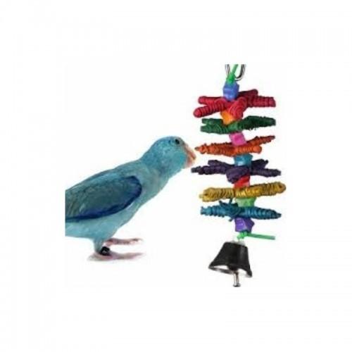 Juguete Stars mini para pájaros color Varios