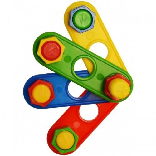 Juguete abanico de tornillos para loros color Varios