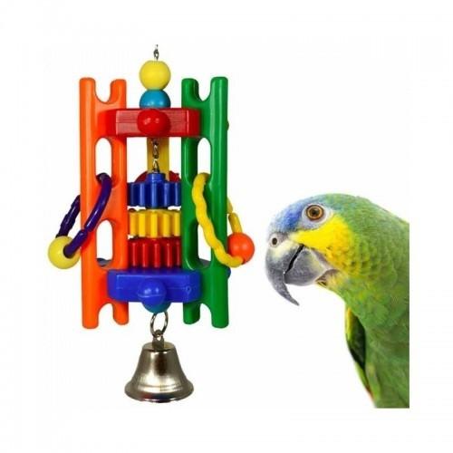 Juguete para pájaros Puzzle Play varios colores
