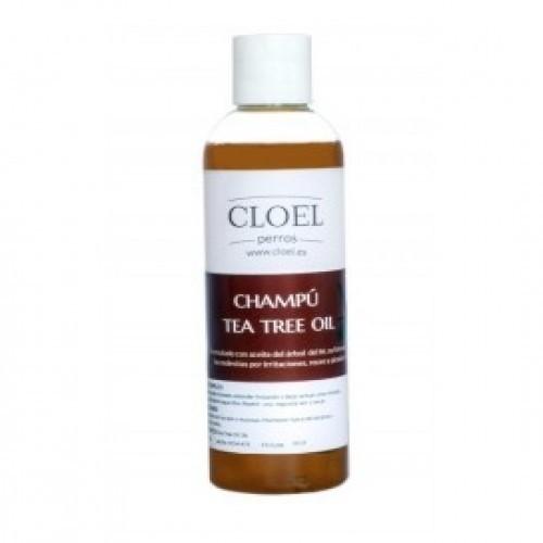 Champú para perros Cloel al árbol del té olor neutro