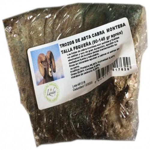 Mordedor de asta de cabra para perros sabor Cabra