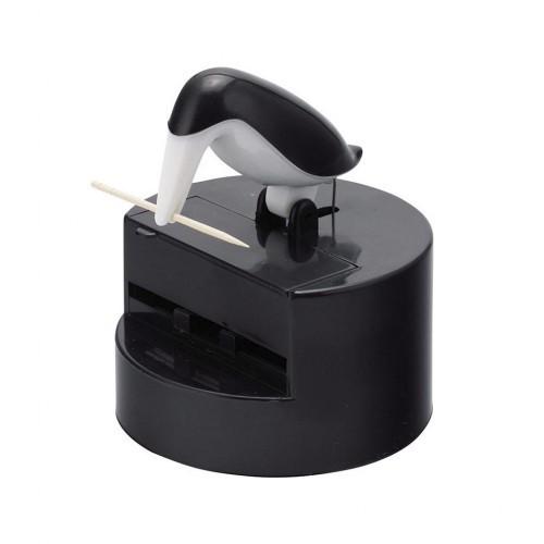 Palillero Balvi con forma de pelícano color negro