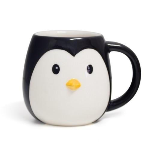 Taza Mug Pingo en forma de pingüino color Blanco