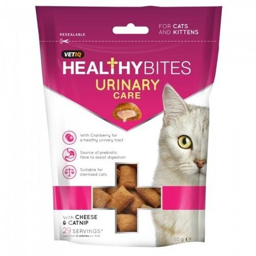 Bocaditos Healthy Bites para el cuidado urinario de los gatos