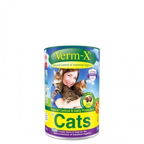 Snacks Herbal Verm-X para gatos sabor Natural