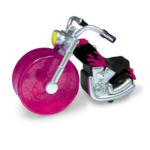 Rueda de ejercicio motocicleta para roedores color Variado