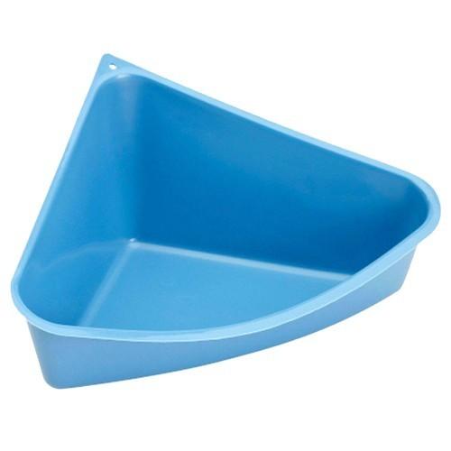 Baño Rody de esquina para hurones y conejos