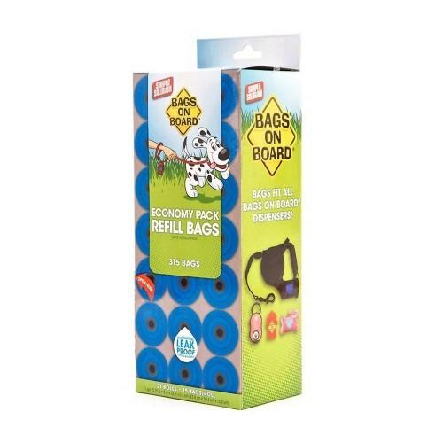 Pack de 315 bolsitas para excrementos olor Natural