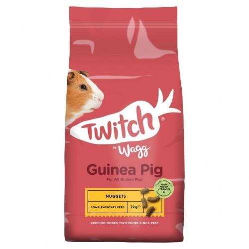 Comida crujiente Twitch para cobayas