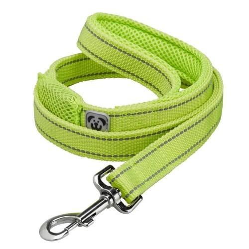 Correa de alta visibilidad para perros color Amarillo fluorescente