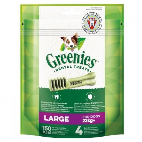 Snack dentales grandes para perros sabor Natural