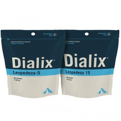 Suplemento renal para mascotas Dialix Lespedeza 15