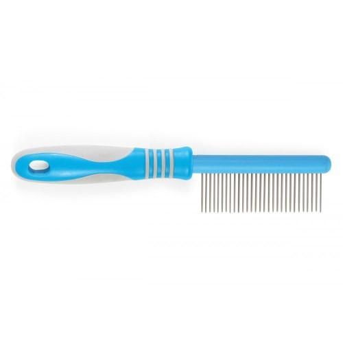 Peine ergonómico mediano color Azul