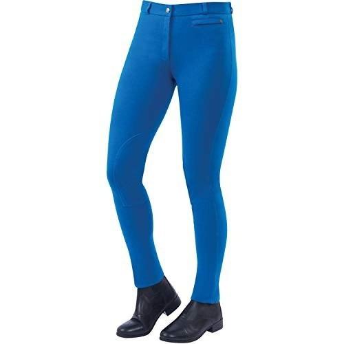 Pantalón equitación Dublin Supa-fit para mujer color Azul Mar
