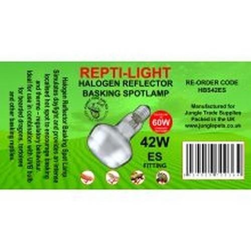 Bombillo reflector halógeno (42W) para terrarios