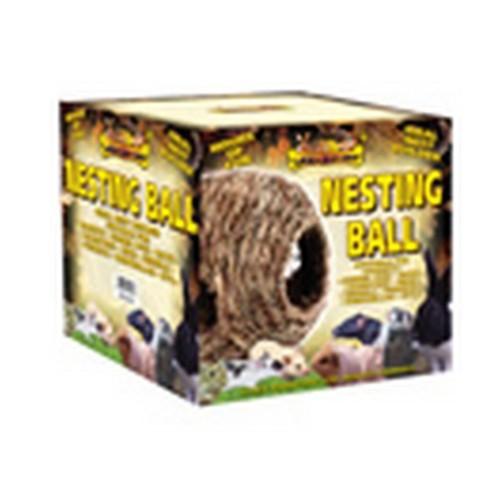 Pelota nido para mascotas color Marrón