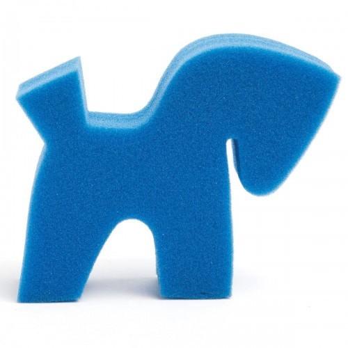 Esponja diseño de poni color Azul