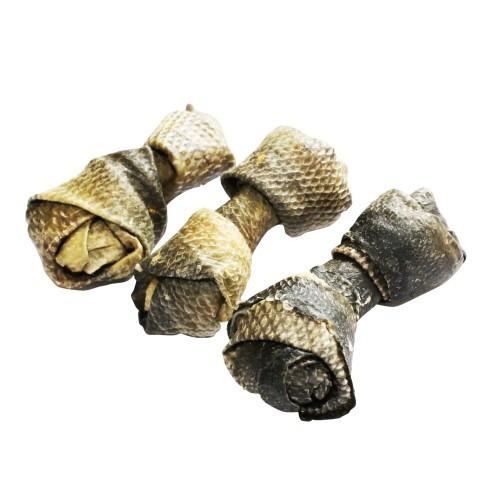 Snacks para perros piel de salmón natural