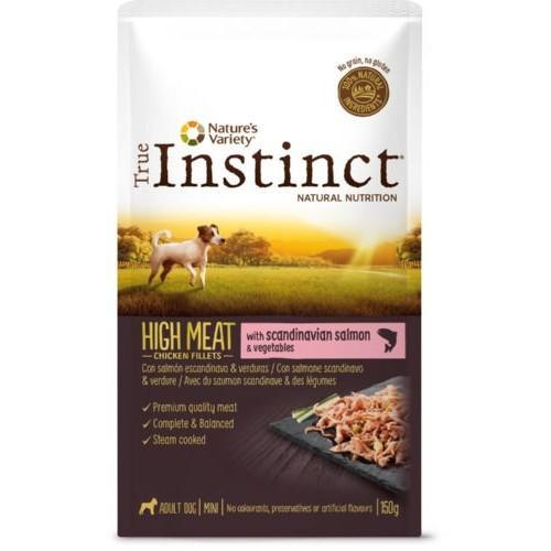 True Instinct High Meat Mini Filetes Salmón & verduras