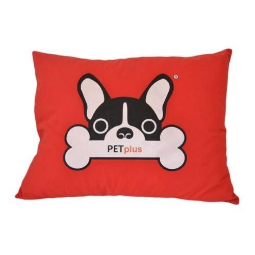 Colchón para perros rectangular Turín rojo