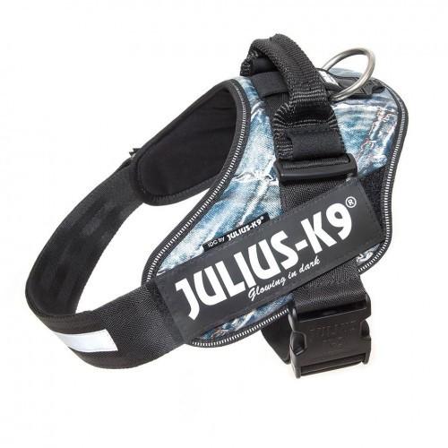 Arnés ergonómico Julius K9 para perros color Jeans
