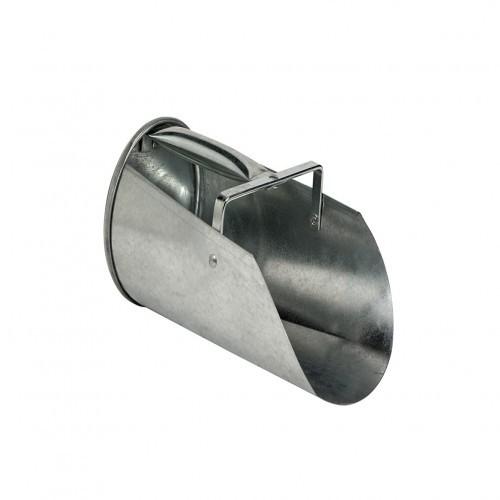 Pala para pienso metálica 2 L