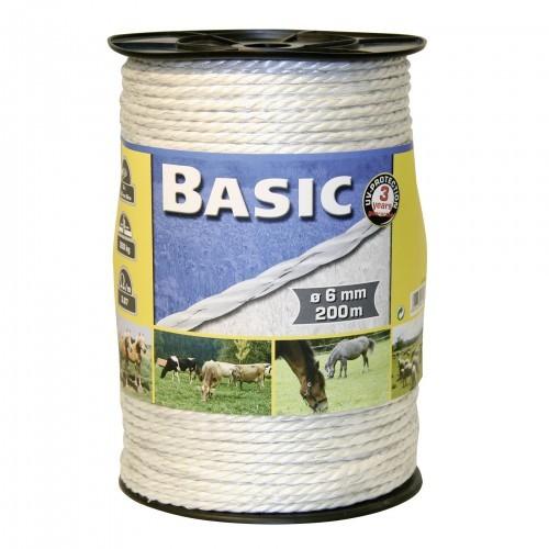 Cuerda de vallado con alambres de acero