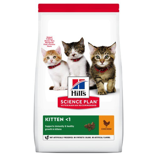 Hill's Science Plan Pienso seco gatito sabor pollo