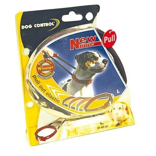 Collar elástico control de tirones para perros color Marrón