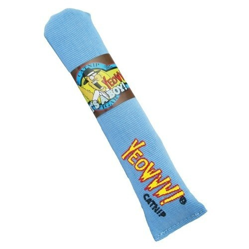 Puro de juguete con catnip para gatos color Azul
