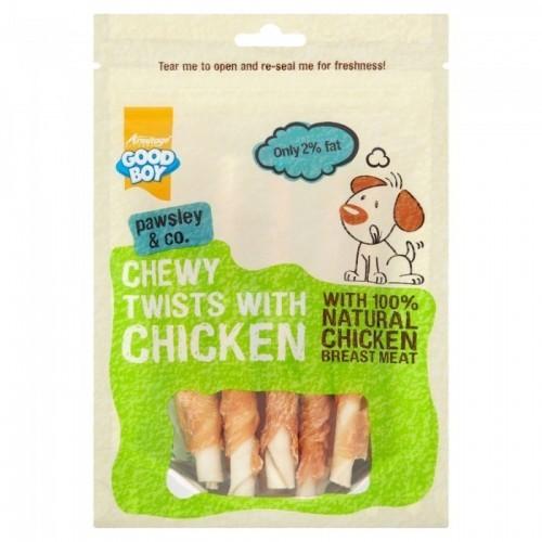 Snacks rollitos de mordisquear para perros