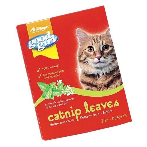 Hojas de Catnip hierba gatera para gatos sabor Natural