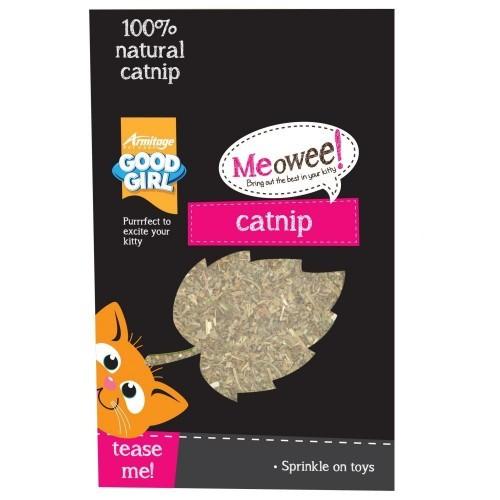 Hojas de hierba gatera natural para gatos sabor Natural
