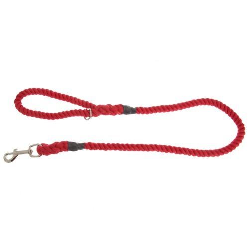 Correa de cuerda modelo Outhwaites para perros color Rojo
