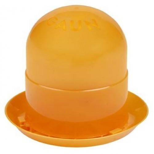 Comedero para pollitos color Naranja